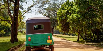 Tuk tuk på Sri Lanka