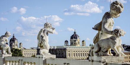 Vakker kunst i Wien, Østerrike.