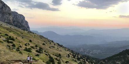 Storslått natur i Zagoria