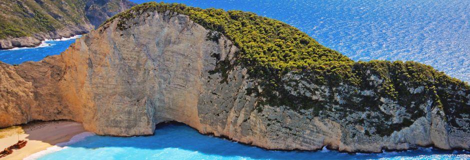Smugglers Wreck på Zakynthos